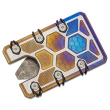 EOS Titanium 2.5 Wallet, Flamed Two-Tone
