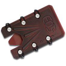 EOS Titanium 2.0 Wallet, Red Battleworn