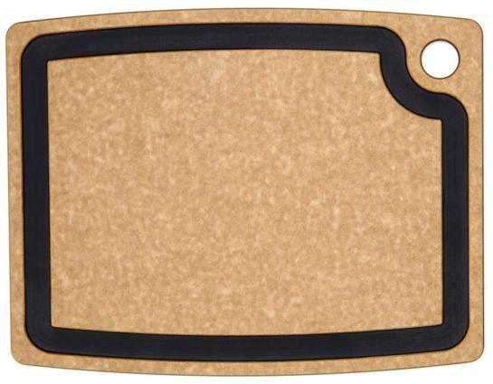 Epicurean Gourmet Series Wood Fiber Cutting Board, Natural/Slate, 14.5 inch x 11.25 inch