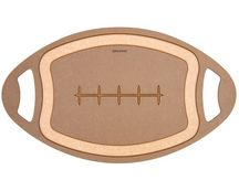 Epicurean Football Cutting and Serving Board