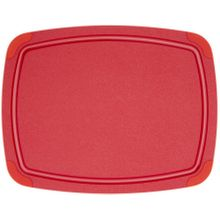 Epicurean Poly Board All-Purpose Cutting Board, Red, 14.5 inch x 11.25 inch