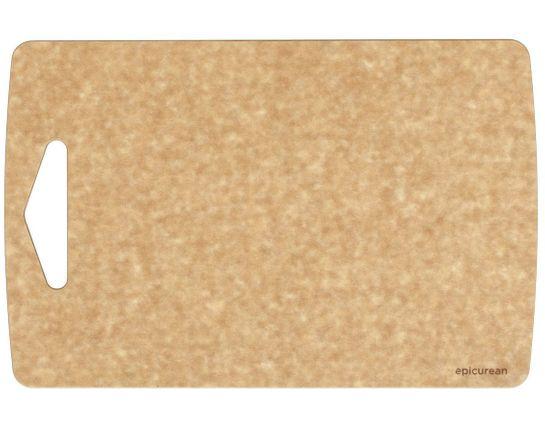 Epicurean Prep Series Wood Fiber Cutting Board, Natural, 13 inch x 8.5 inch