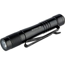 Factor Equipment FM001 MiZPAH 130 Compact LED Flashlight, Black, 130 Max Lumens