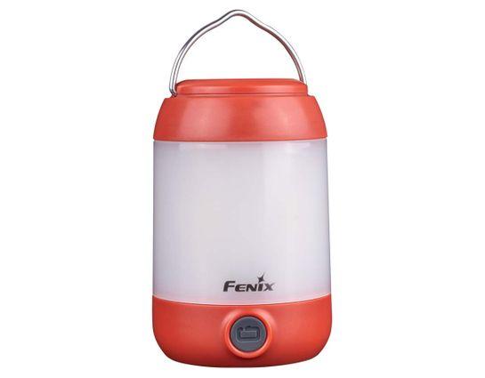 Fenix CL23 Lightweight Camping LED Lantern, Red, 300 Max Lumens