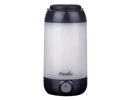 Fenix CL26RB Rechargeable LED Lantern, Black, 400 Max Lumens