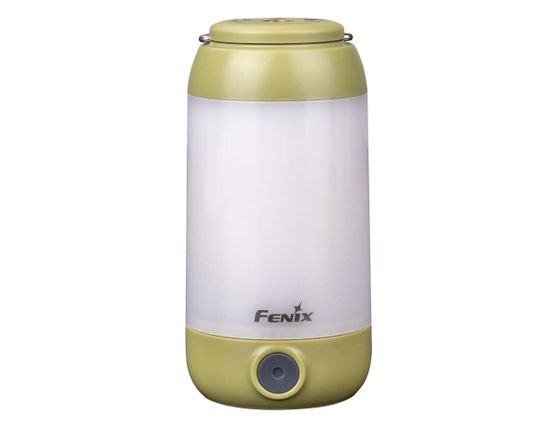 Fenix CL26RG Rechargeable LED Lantern, Green, 400 Max Lumens