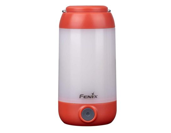 Fenix CL26RR Rechargeable LED Lantern, Red, 400 Max Lumens