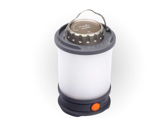 Fenix CL30R Rechargeable Camping Lantern, Gray, 650 Max Lumens