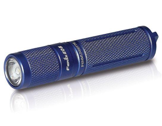 Fenix E05 Keychain LED Flashlight, Blue, 85 Max Lumens