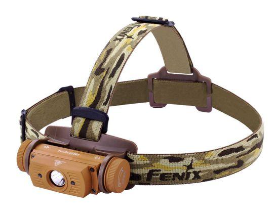 Fenix HL60R Rechargeable LED Headlamp, Desert Tan, 950 Max Lumens