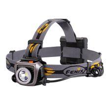 Fenix HP15UE LED Headlamp, Gray, 900 Max Lumens