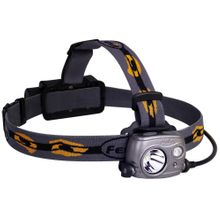 Fenix HP25R Rechargeable LED Headlamp, Gray, 1000 Max Lumens