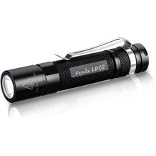 Fenix LD02 LED Flashlight, Black, 100 Max Lumens