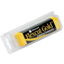 Flexcut Gold Polishing Compound, 6 oz. Bar