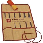 Flexcut 11-Piece Craft Carver Set, 10 Different Style Blades w/ Knife Roll