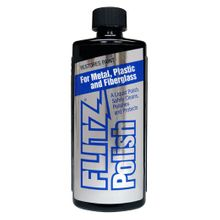 Flitz LQ-04535 Liquid Metal Polish - 3.4 oz. Bottle