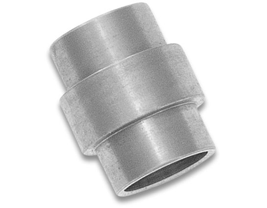 Flytanium Titanium Lanyard Tube for Spyderco Paramilitary 2, Satin - Knife Not Included