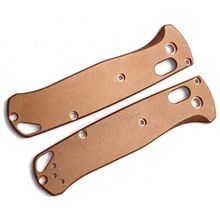 Flytanium Copper Scales for Benchmade Bugout, Antique Stonewash, Knife Not Included