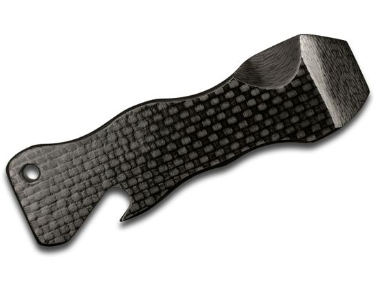 Aaron Frederick Custom Carbon Fiber Breacher Bar, 4 inch Overall