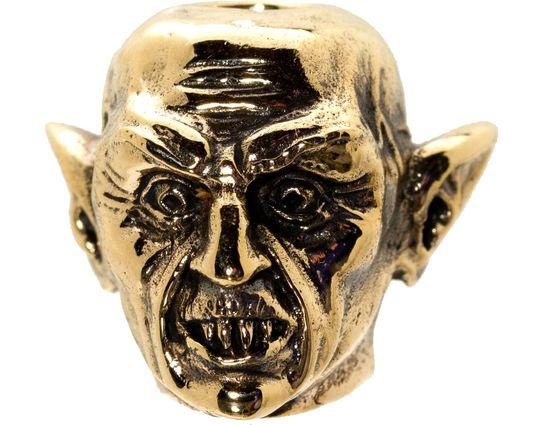 GD Skulls USA Bronze M5 Monsters of the World Nosferatu Bead