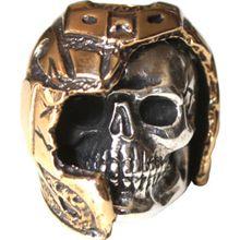 GD Skulls USA B1 Biker Skull
