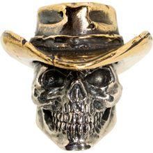 GD Skulls USA W10 Cowboy Skull