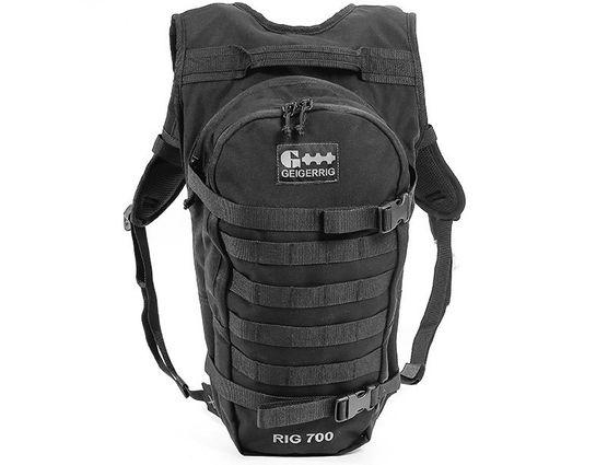 GEIGERRIG RIG 700 Tactical Hydration Pack, Black (G5 700TAC BK)