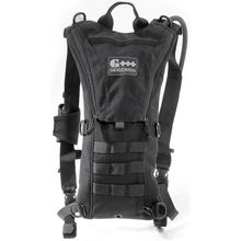 GEIGERRIG Tactical Rigger Hydration Pack, Black (G5RIGGERBK)