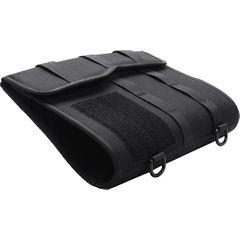GenPro Black Tactical Padfolio with MOLLE Attachments