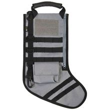GenPro RuckUp Shadow Gray Tactical Christmas Stocking with MOLLE Attachment