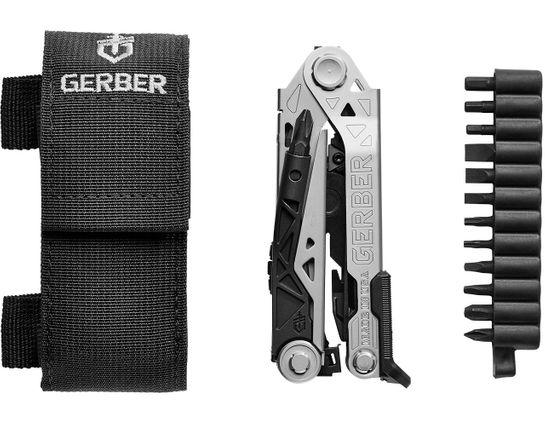 Gerber Center-Drive Multi-Tool with Bit Set, Black Nylon Sheath