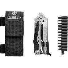 Gerber Center-Drive Black Multi-Tool with Bit Set, Black Berry-Compliant Sheath