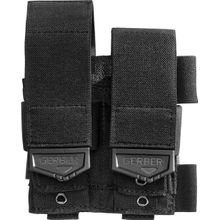 Gerber CustomFit Quad MOLLE Compatible Sheath, Berry Compliant, Black