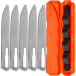 Gerber Vital Big Game Replacement Blades, Blunt Tip, 5 Pack with Carry Case
