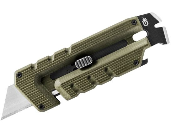 Gerber Prybrid Utility Multi-Function Tool, Replaceable Razor Blade, Green G10 Handles