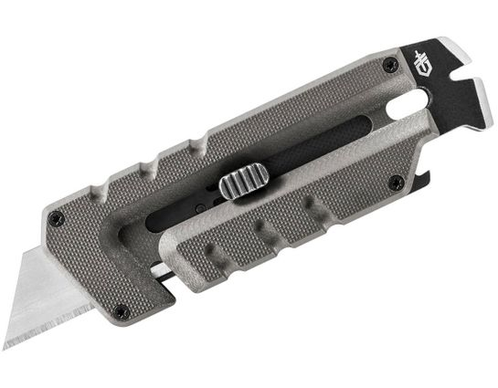 Gerber Prybrid Utility Multi-Function Tool, Replaceable Razor Blade, Gray G10 Handles