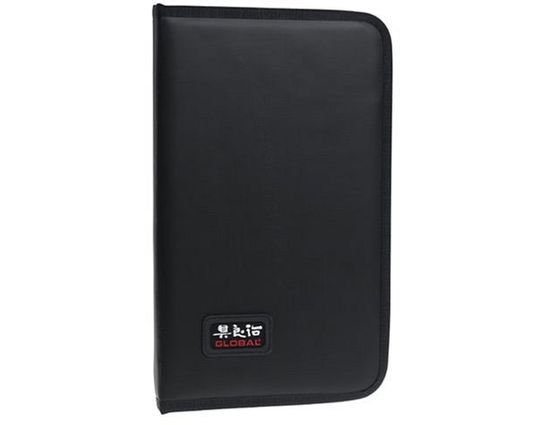 Global G-666/07 Soft Portfolio Case with 7 Pockets