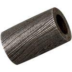 Grindworx Damascus Steel Straight Barrel Bead