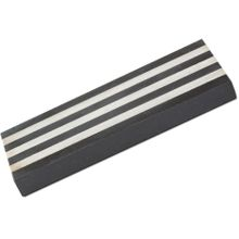 Hall Sharpening Stones 30326 Soft/Dunston Black Arkansas 8 inch Vulcan Stone in Wooden Box