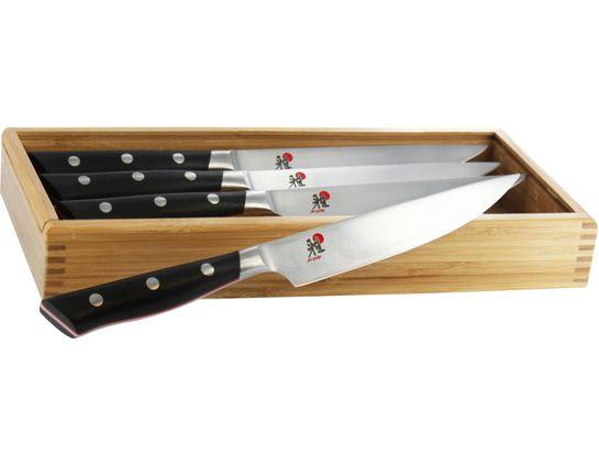 Zwilling J.A. Henckels Miyabi Red 600S Morimoto 4 Piece Steak Set