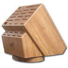 Zwilling J.A. Henckels 26 Slot Bamboo Swivel Knife Block
