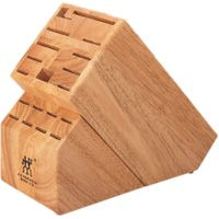 Zwilling J.A. Henckels Storage Hardwood Super Knife Block, 19 Slots