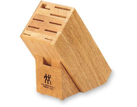 Zwilling J.A. Henckels Storage Hardwood Knife Block, 10 Slots