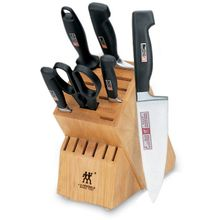 Zwilling J.A. Henckels TWIN Four Star 7 Piece Block Set
