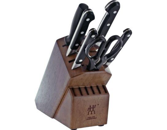 Zwilling J.A. Henckels Pro 7 Piece Knife Block Set 38445-000