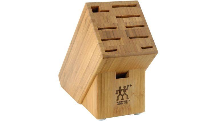 Zwilling J.A. Henckels Storage Bamboo Knife Block, 10 Slots