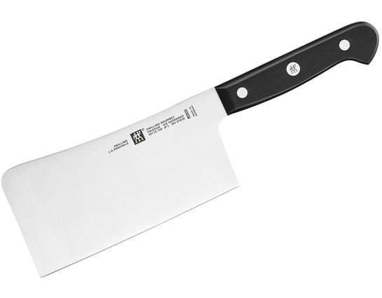 Zwilling J.A. Henckels Gourmet 6 inch Cleaver, Black POM Handles
