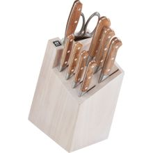 Zwilling J.A. Henckels Pro Holm 10 Piece Knife Block Set, White Block