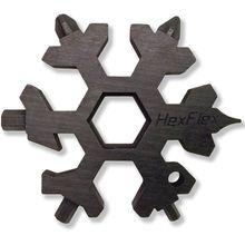 HexFlex Black Standard Adventure Tool 2.5 inch Overall, Black Oxide Stainless Steel