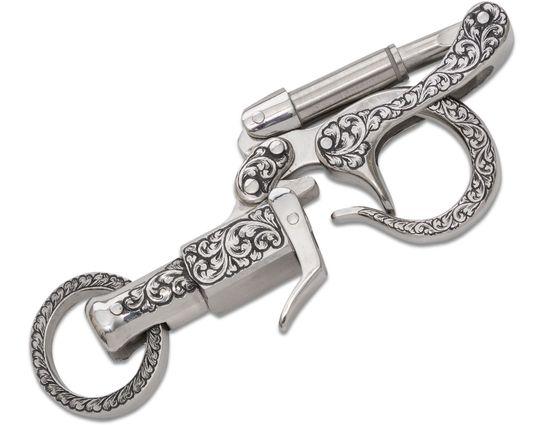 Hidetoshi Nakayama Custom Handmade Engraved Piston Key Holder